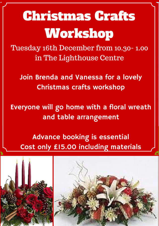 Christmas CRafts Workshop