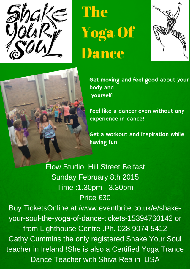 Another first for the lighthouse! Bring your inner dancer out to play and join us! Buy your ticket now t https://www.eventbrite.co.uk/e/shake-your-soul-the-yoga-of-dance-tickets-15394760142